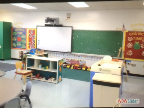 Pre-K Class with Technology